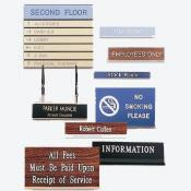 Nameplates & Signs